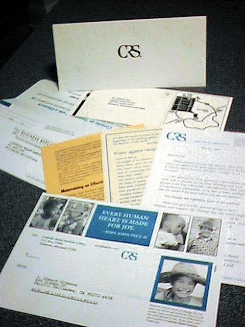Catholic Relief Services Corporate Marketing Materials