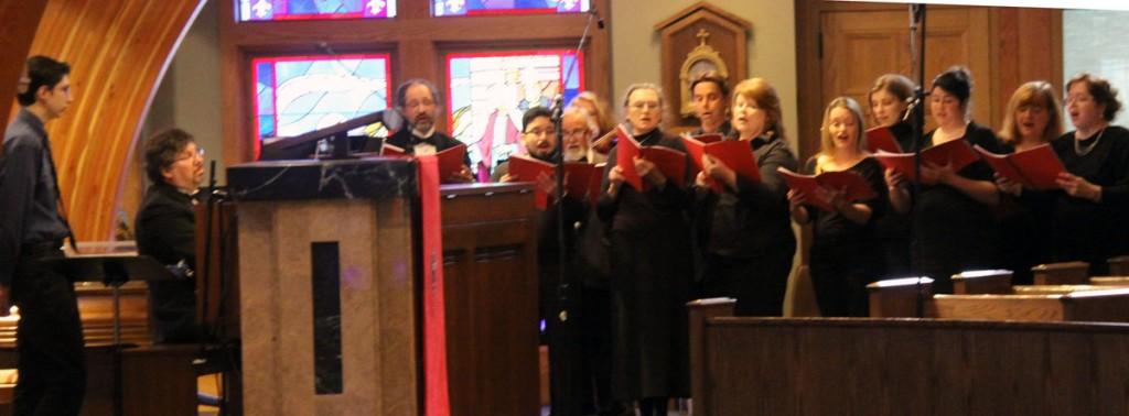 Koerber Conducts Premiere of Et Lux In Tenebrae