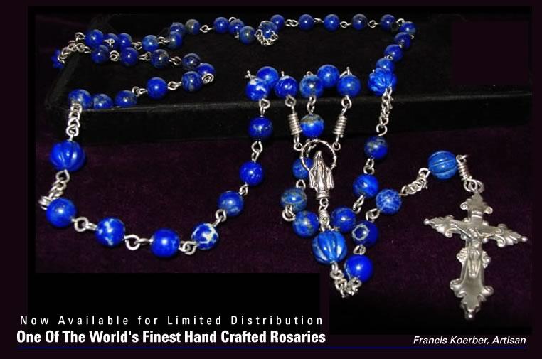 Lapis Lazuli Rosary (AAA)